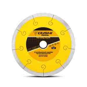 Thin Rim J-Slot Diamond Blade for cutting tile,ceramic