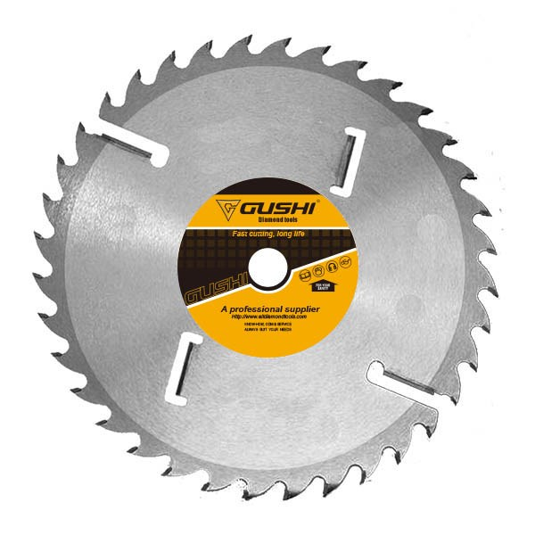 TCT Ripping Saw Blade With Wiper Teeth