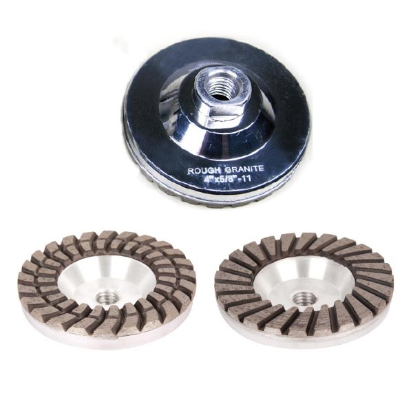 Turbo Diamond Grinding Wheel with Aluminum Base