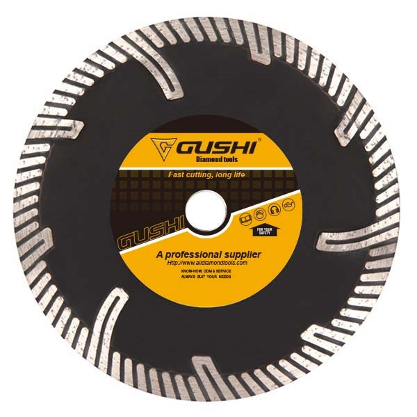 Turbo Rim Diamond Blade with Protect Teeth
