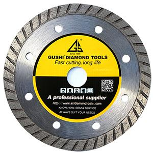 Turbo granite cutting blade